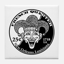 french-quarter-T Tile Coaster