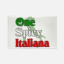 One Spicy Italiana Rectangle Magnet