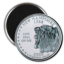 New Hampshire State Quarter Magnet
