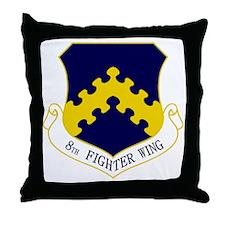 8th FW Throw Pillow