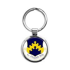 8th FW Round Keychain