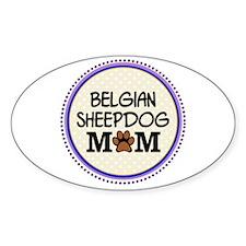 Belgian Sheepdog Mom Decal