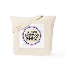 Belgian Sheepdog Mom Tote Bag