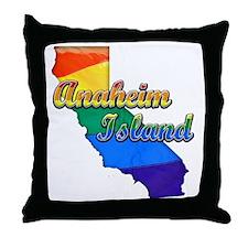 Anaheim Island Throw Pillow