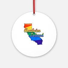 Anaheim Island Round Ornament