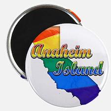 Anaheim Island Magnet