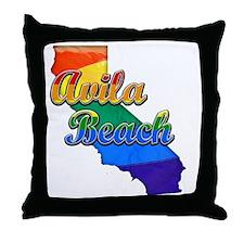 Avila Beach Throw Pillow