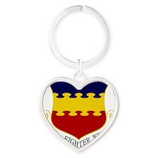 20th FW Heart Keychain