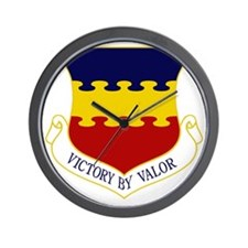 20th FW - Victory By Valor Wall Clock