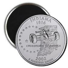 Indiana State Quarter Magnet