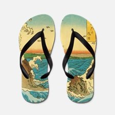 HiroshigeRapids1SC Flip Flops
