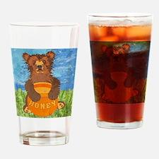 stadiumBlanketHoneyBear Drinking Glass