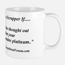 you might be a scrapper- pacemaker Mug
