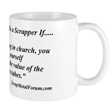 you might be a scrapper- church organ Mug