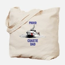 USCG Boat Dad Tote Bag