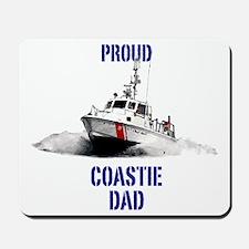 USCG Boat Dad Mousepad