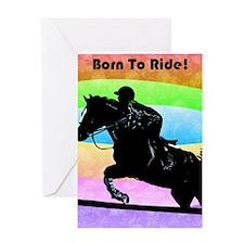 born_to_ride Greeting Card