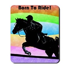 born_to_ride Mousepad