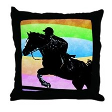 born_to_ride Throw Pillow