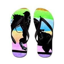 born_to_ride Flip Flops