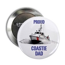 "USCG Boat Dad Mug 2.25"" Button"