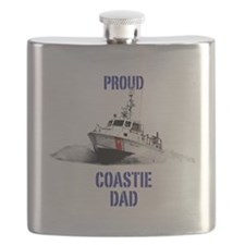USCG Boat Dad Mug Flask