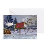 Unicorn christmas Greeting Cards (20 Pack)
