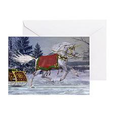 2013 Holiday Unicorn Greeting Card