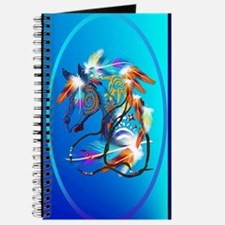 Jewel Oval Bright Horse 2 Journal