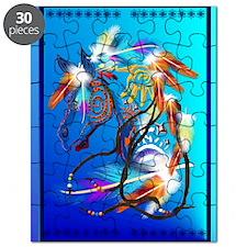 Photo Keyring-Bright Horse 2 Puzzle
