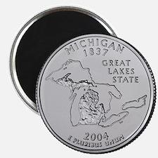 "Michigan State Quarter 2.25"" Magnet (10 pack)"