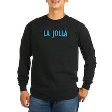 La Jolla - Long Sleeve Black T-Shirt