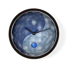 YingYangCloudCapt_Large04edg_3600x3600 Wall Clock