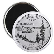 2005 Oregon State Quarter Magnet