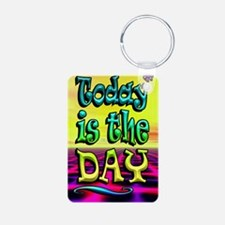 Today Poster 5c-001 Keychains