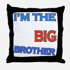bigbrother-basketball-black Throw Pillow