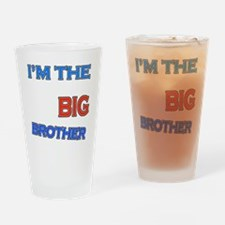bigbrother-basketball-black Drinking Glass