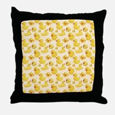 RubberDuck1 Throw Pillow