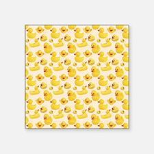 """RubberDuck1 Square Sticker 3"""" x 3"""""""