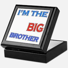bigbrother-hangliding-black Keepsake Box