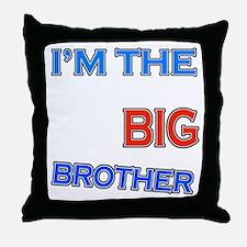bigbrother-hangliding-black Throw Pillow
