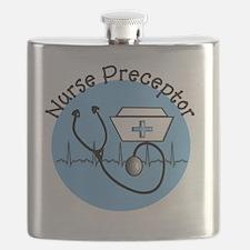 nurse preceptor blue 9 Flask