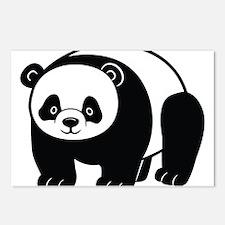 Standing Panda Postcards (Package of 8)