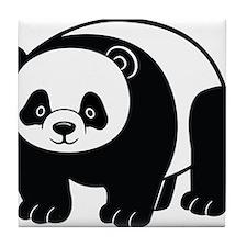 Standing Panda Tile Coaster