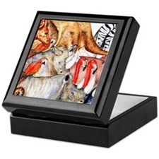 Two by Two cropped Keepsake Box