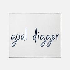 goal digger Throw Blanket