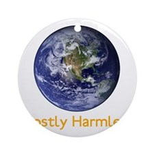 Mostly Harmless Round Ornament