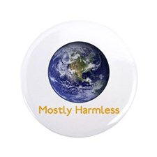 "Mostly Harmless 3.5"" Button"