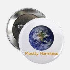 "Mostly Harmless 2.25"" Button"