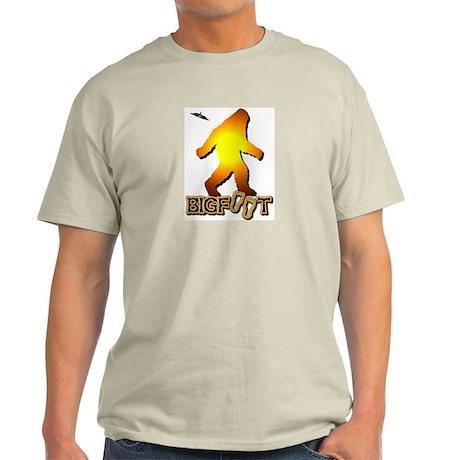 Bigfoot in Orange Light T-Shirt